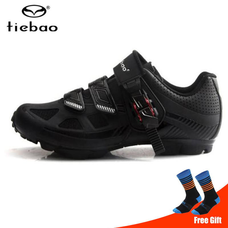 TIEBAO Cycling Shoes sapatilha ciclismo mtb Breathable Professional Self Locking Bicycle Shoes Non Slip Bike Racing Shoes Cycling Shoes    - title=
