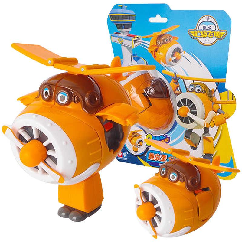 Original AULDEY ใหม่ Super WINGS Jett Tranformation ของเล่น Dizzy Donnie Jerome น่ารักร้อนของขวัญของเล่นปีใหม่สำหรับเด็ก