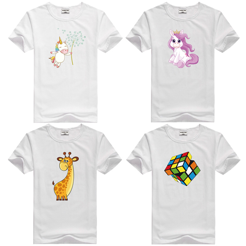 DMDM PIG Summer Children Clothing Boys T Shirt Cotton Short Sleeve T-shirt Infant Kids Boy Girls Tops Casual T-shirt 2-4Y Shirt