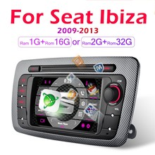 Video-Player Multimedia Car-Android-Radio 2009 Seat-Ibiza-6j 2din for Navigation GPS