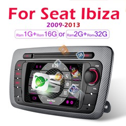 2din Car Android Radio Multimedia Video Player For Seat Ibiza 6j 2009 2010 2011 2012 2013 Navigation GPS 2 Din autoradio NO dvd
