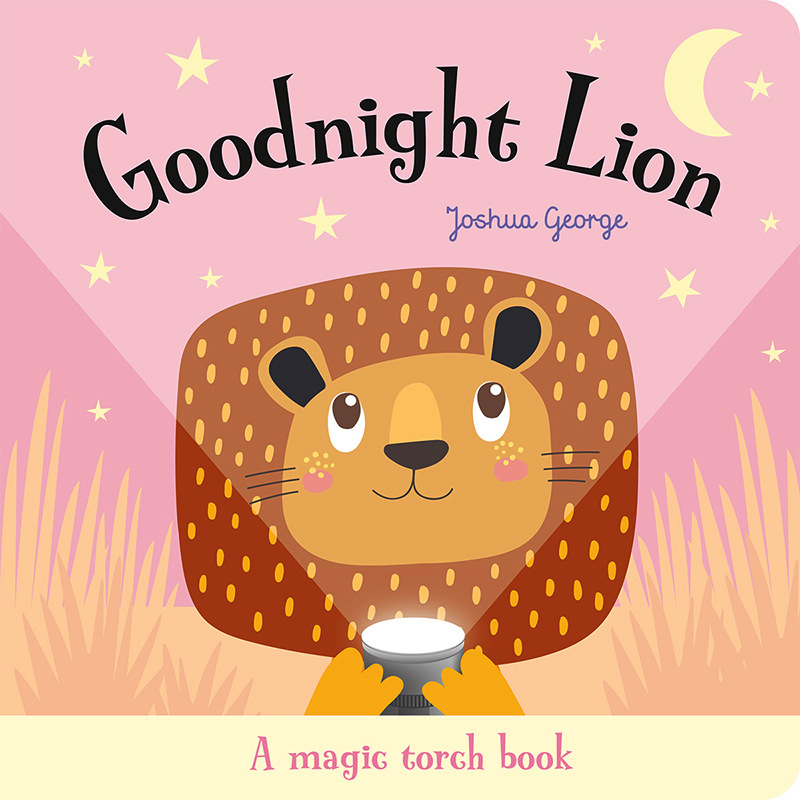 Goodnight Lion Flashlight Book English Educational Picture Books Baby Children Reading Book