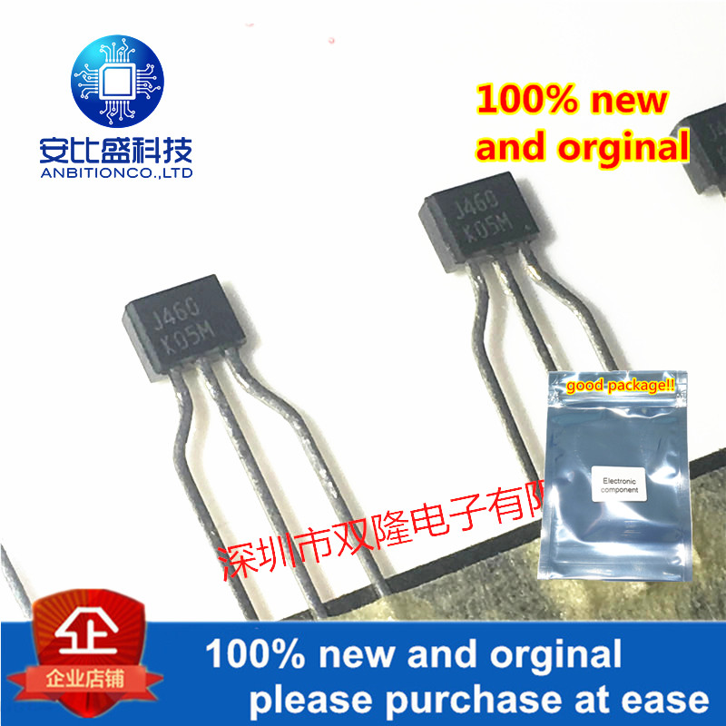 10pcs 100% New And Orginal 2SJ460-K J460 TO920.1A/50V In Stock