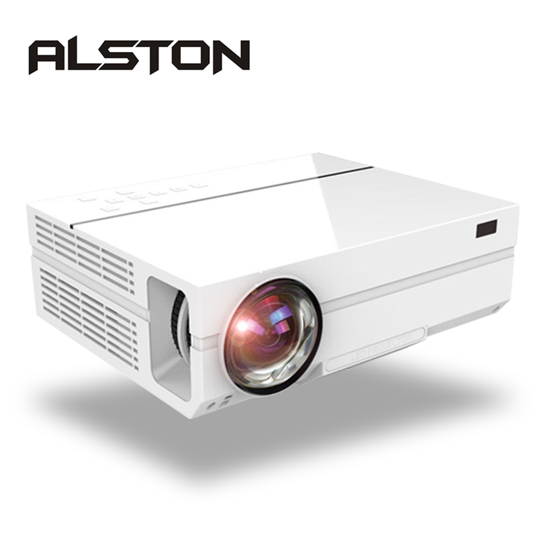 1080P Projector T26 Theater ALSTON Home Cinema Lumens Full-Hd Beamer 5500 VGA 3D HDMI