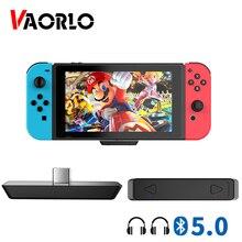 Switch Audio-Adapter Nintendo Smart-Multipoint VAORLO Bluetooth Tranmsitter Wireless