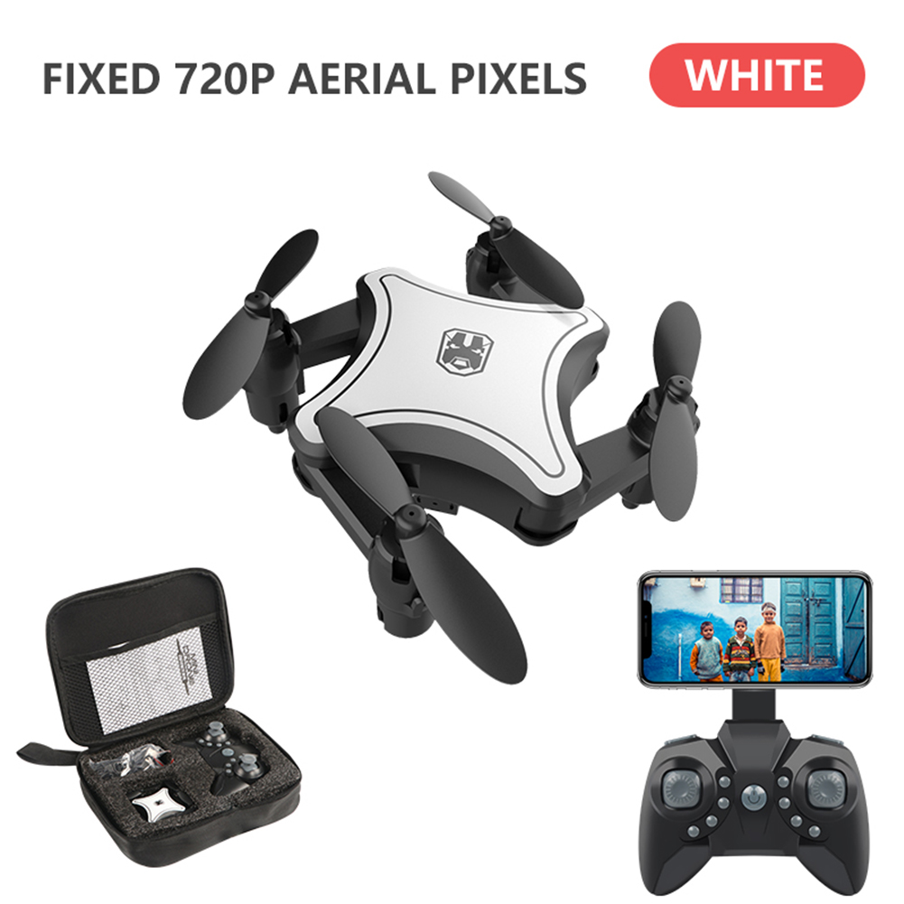 KY902 2 4G With Storage Bag Quadcopter Toy 4 Channels ABS 6 Axis Gyro Foldable Helicopter Kids Mini RC Drone 360 Degree Rotation