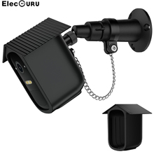 Anti theft Wall Mount Holder for Eufy 2C Camera with Waterproof Protective Cover Case and Anti theft Chain