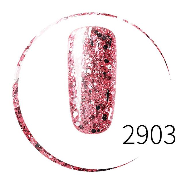 Elite99 Professionelle Diamant Glitter UV Nagel Gel Polish 10ml Rose Pailletten Gel Lang anhaltende Bling Nagellack Maniküre kunst Werkzeug