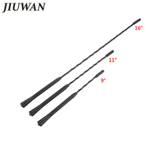 9/11/16 Inch Universal Car Roof Mast Whip Stereo Radio FM/AM Signal Aerial Amplified Antenna For VW BMW Benz Mazda Audi Toyota