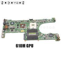 NOKOTION PC Motherboard Für ASUS U31SG U31SD X35S WICHTIGSTEN BORD 60-NY5MB1000-A02 69N0MPM10A02 HM65 DDR3 Gefore 610M grafiken