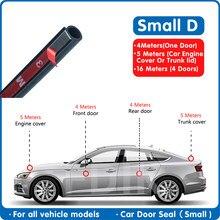 Автомобильное уплотнение для двери, маленькая D Погодная полоса, фотоуплотнение, уплотнение Epdm, автомобильные резиновые дверные уплотнения...