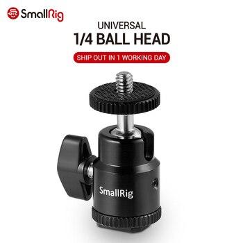 """Adaptador de zapata para Monitor LCD SmallRig de 1/4 pulgadas, montura de zapata para cámara con tornillo de 1/4 """"para Canon, para Nikon, para Panasonnic - 761"""