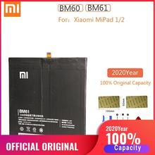 BM60 BM61 Original Xiao Mi Pad 1/2 Replacement Battery for Xiaomi MiPad 1 2 batteries Xiomi Mi Pad1 Pad2 bateria MiPad1 MiPad2