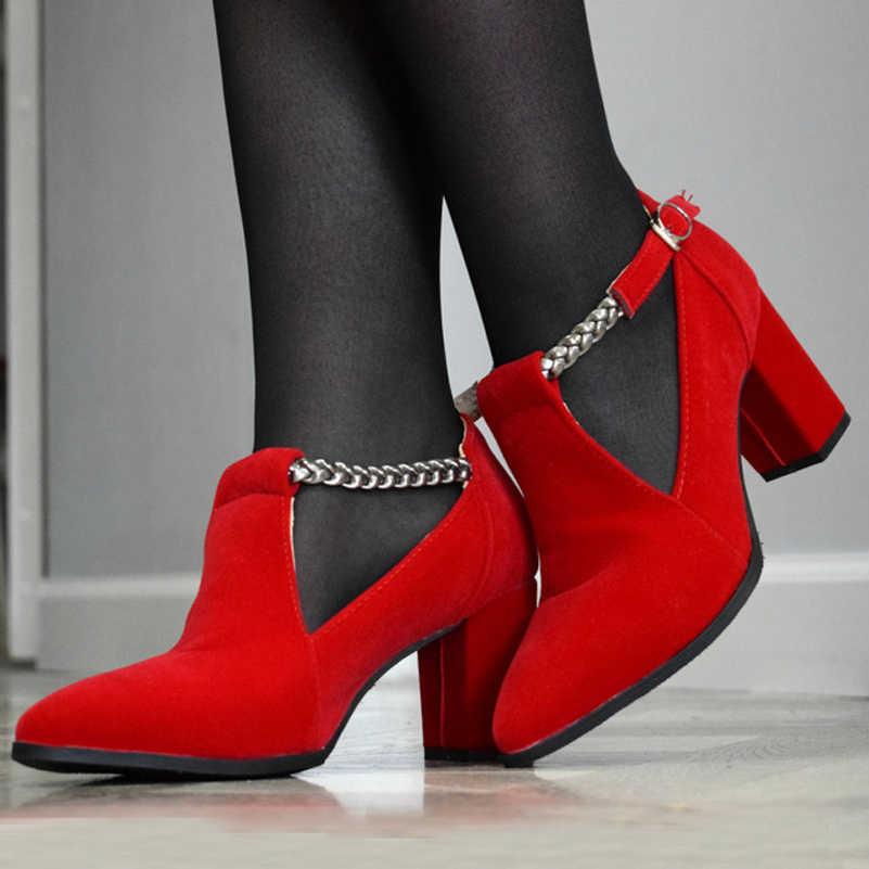 Meotina kobiety pompy wysokie obcasy obuwie damskie eleganckie szpiczasty nosek ślubne buty damskie 2019 wiosna moda rozmiar 33-43 niebieski czarny