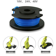 3pcs Weeding Tool Trimmer Spool Line with Spool Covers For Ryobi One Lawn Mower AC14RL3A Outdoor Garden Tools
