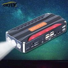 GKFLY Auto Starthilfe Start Gerät Auto Batterie Ladegerät Power Bank Auto Buster Notfall Booster Buster SOS LED Taschenlampe