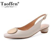 Taoffen Spring Women Pumps Ankle Strap Women Shoes