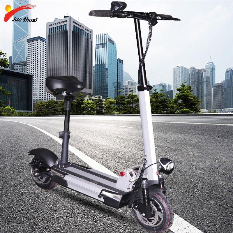 48V500W 2019 электрический скутер 48V26A литиевая батарея с сидением моторное колесо взрослый самокат складной patinete Electronic adulto