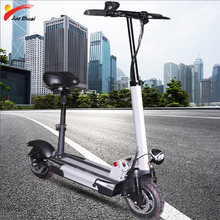 48V500W 2019 Electric Scooter 48V26A Baterai Lithium Withseat Motor Roda Dewasa Kick E Scooter Folding Patinete Electrico Adulto(China)