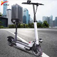 48V500W 2019 Elektrische Roller 48V26A Lithium-Batterie withseat Motor Rad Erwachsene kick e roller falten patinete electrico adulto