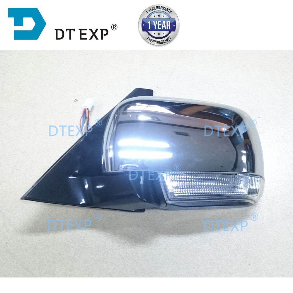 7632a655 7632a656 for pajero v97 v93 side mirror with light v87 rear turning signal lamp v98 chrome buy 2 pair