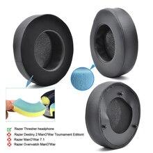 קירור ג ל כרית אוזן רפידות החלפת earpads עבור Razer מחבטה אולטימטיבי אוזניות