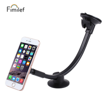 Universal Magnetic Car Phone Holder Long Arm Windshield Dashboard magnet Car