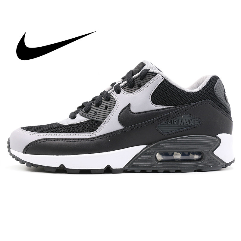 Original NIKE AIR MAX 90 Essential Men's Running Shoes Mesh Breathable Comfortable Jogging Sport Outdoor Sneakers 537384-053