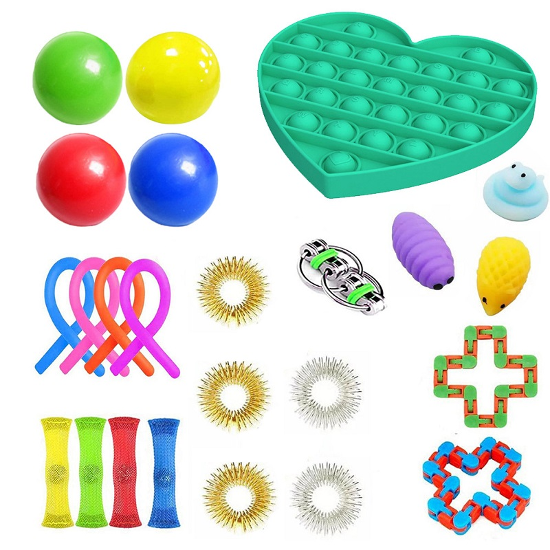 Toys-Set Toy-Pack Fidget Marble Msxf It-Box-Strings Gift Relief Anti-Stress Adults Children img2
