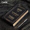 Retro Agenda 2020 Planer Organizer A5 Tagebuch Business Notebook und Journal Set Wöchentlich Monatlich Hinweis Buch Luxus Reise Handbuch