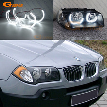 цена на For BMW E83 X3 2003 2004 2005 2006 2007 2008 2009 2010 Excellent DTM M4 Style Ultra bright led Angel Eyes halo rings Car styling