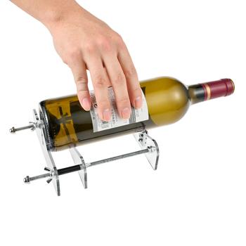 Szklana do samodzielnego wykonania zestaw narzędzi do cięcia butelek profesjonalny do obcinania butelek lekkie butelki akrylowe nóż szklany przenośne narzędzia do wygładzania tanie i dobre opinie Obróbka metali Usual Glass Bottle Bottle Cutter Set 20 - 230 mm Do cięcia szkła Transparent PC material + stainless steel Acrylic