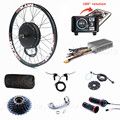 80KM/H-1000KM/H Electric Bike Kit 72V 3000W Wheel Motor Electric Bicycle Conversion Kit with TFT colorful display