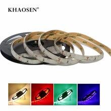 Khaosen impermeável ip65 led strip luz flexível alto brilho natal 0.5m 1m 2m 3m 4m 5m azul vermelho verde branco warmwhite