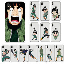 Legal Naruto Rock Arte Marcial Bruce Lee Naruto Dos Desenhos Animados Japão Phone Cases Capa Para iPhone 6 6s 7 8 MAIS X XS Max Capa de Silicone(China)