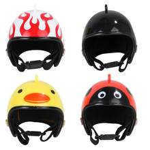 Pet Chicken Bird Helmet Small Pet Hard Hat Hat Headgear Pet Helmets Toy Bird Protect Cap ABS Hats Accessories Pet Supplies(China)