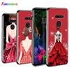 Wedding Dress Girl for LG W30 W10 V50S V50 V40 V30 K50S K40S K30 K20 Q60 Q8 Q7 Q6 G8 G7 G6 ThinQ Phone Case