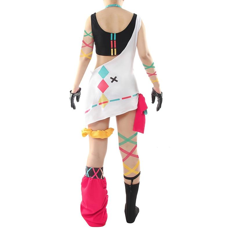 Game Pinky Pop Hepburn Cosplay Costumes Halloween Party Anime Women Cosplay Costume Dresses