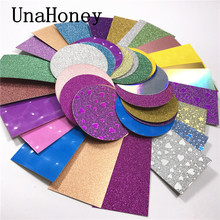 100 Pcs Internal Holographic Glitter Background Pape  for the Inside of lashes packaging box make up eyelash
