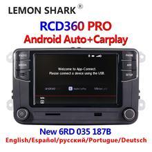RCD360 Nowy odtwarzacz radio do auta, urządzenie pasuje do VW Golf 5, 6, Jetta, MK5, MK6, Tiguan, CC Polo, Passat, 187B, MIB, RCD330, 6RD035187B