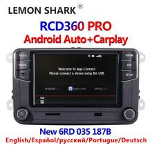 RCD360 Pro Noname Android Auto Carplay Nuovo RCD330 187B Mib Radio per Vw Golf 5 6 Jetta MK5 MK6 Tiguan cc Polo Passat 6RD035187B(China)