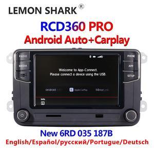 RCD360 PRO NONAME Android Auto Carplay New RCD330 187B MIB Radio For VW Golf 5 6 Jetta MK5 MK6 Tiguan CC Polo Passat 6RD035187B