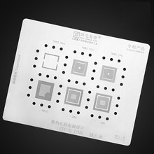 BGA Reballing Schablone für MT6325V MT6290MA MT6261MA MT6322 MT6329 MT6353V MT6311DP Reballing Heizung Vorlage Löten Net