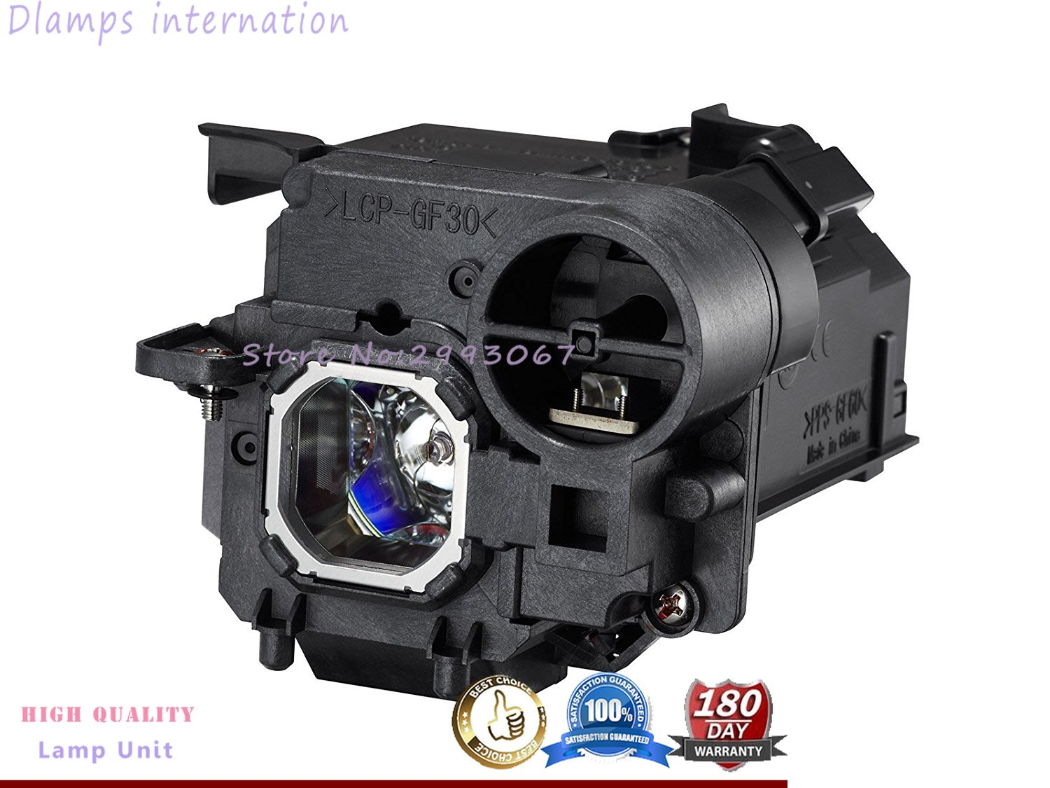 NP32LP / 100013962 Replacement Projector Lamp With Housing For NEC UM301W UM301Xi UM301X UM301Wi Projectors