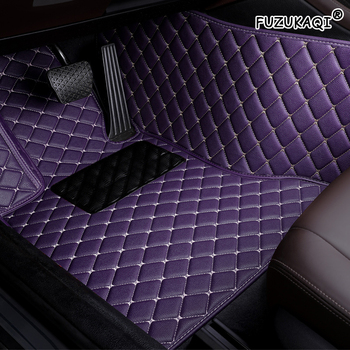 FUZHKAQI custom car floor mat For Audi a5 sportback a3 a4 b8 avant q7 2007 a6 c5 a5 q5 q3 tt accessories carpet rugs floor liner image