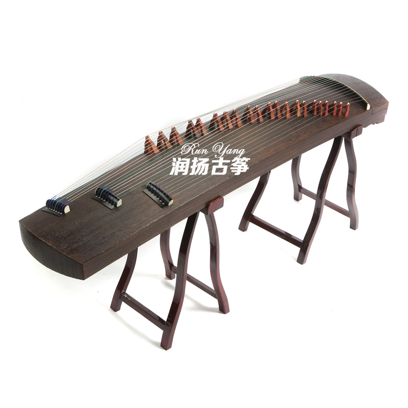 Natural Pure Paulownia Professional Performance China Guzheng Instrument Zither 21 Strings With Full Accessories Guzheng Fingers