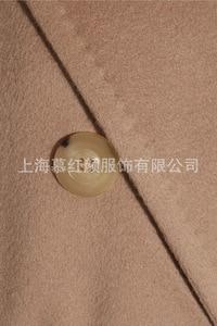 Image 5 - ダブルブレストウールコート固体スリムウールブレンドコートとジャケット女性コート秋冬