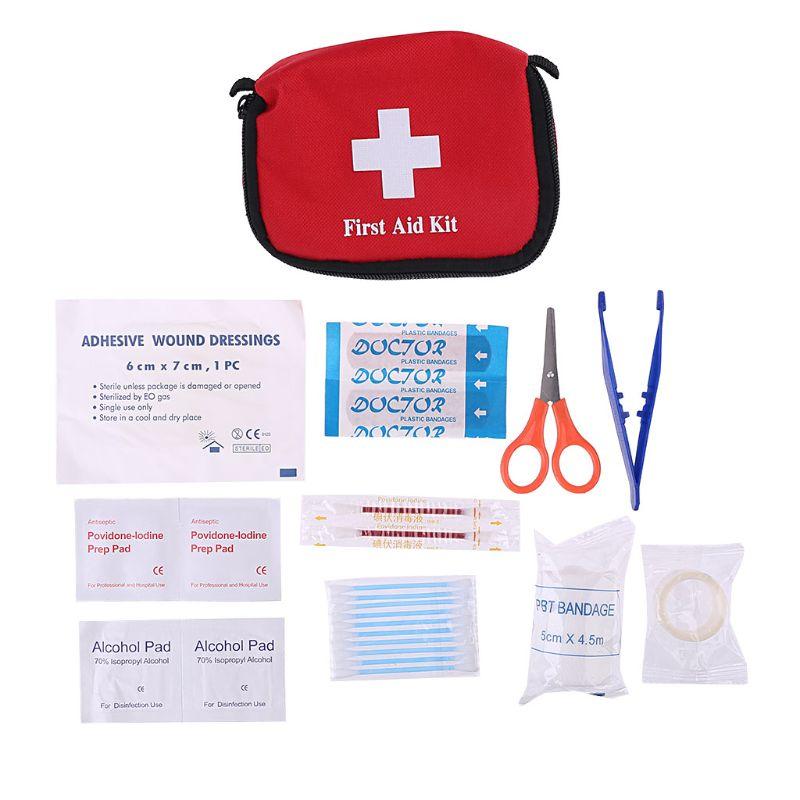Мини-сумка для походов, походов, выживания, путешествий, аварийной аптечки