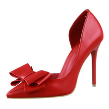 Women Pumps Fashion High Heels Femals Shoes Pumps Hollow Pointed Toes Women Heels Shoes Sweet Pink Red Stiletto 10.5cm G0093 new designer black leather ankle wrap pumps women shoes pointed toe stiletto heels high heels pumps 12cm pink red ladies shoes