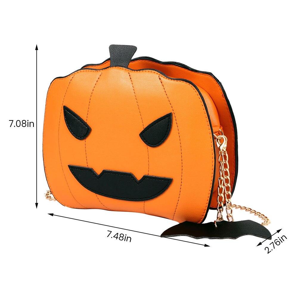 Halloween Purse Women /'s Handbag Pumpkin Shaped Demon Messenger Shoulder Bag